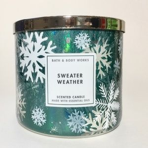 SWEATER WEATHER 3 Wick Candle